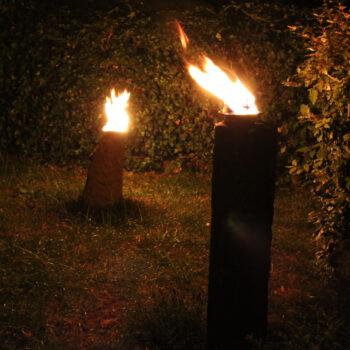 geschmiedete Feuerschälchen