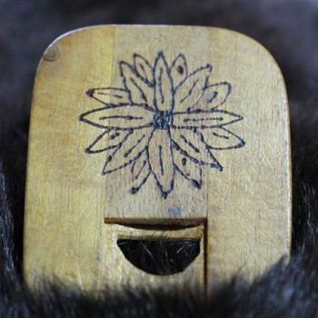 Nasenflöte Holz Flöte Gravur Individuell