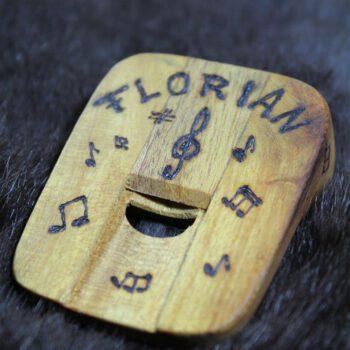 Nasenflöte kaufen Holz Geschenk außergewöhnliche Musikinstrumente individuell gravur