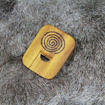 Nasenflöte Holz Spirale Flöte Kinderflöte